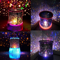 Novelty Led Night Light lamp amazing colorful sky star for home bedroom bedside decoration lampen Cartoon children Kids Lighting