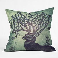 Belle13 Spirit Of The Sea Outdoor Throw Pillow