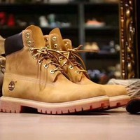 Timberland Wheat Premium 6 Inch Leather Boots 10061 10361