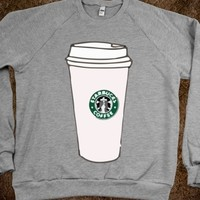 STARBUCKS DRINK SWEATER