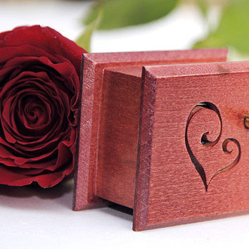 Romantic gift guide unique wooden music box  Love Story