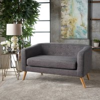 Laura Gray Loveseat