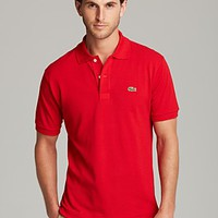 Lacoste Classic Short Sleeve Piqué Polo Shirt