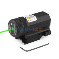 Mini Compact Green Laser Sight New For 20mm Rail Pistol Rifle Glock 17 20 23 21 Hunting