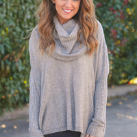 Everything She Does Sweater - Grey