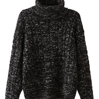 Thickened Long Sleeve Sweater For Women