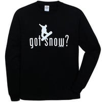 "Coed Sportswear Men's ""Got Snow?"" Snowboard Long-Sleeve T-Shirt"