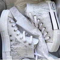 Wearwinds DIOR HIGH -TOP SNEAKER Sneakers transparent plastic skate shoes Women Men Shoes