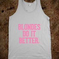 Blondes do it better Pink - Awesome fun #$!!*&