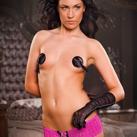 Lace-up Front and Back Crotchless Panties ERICA