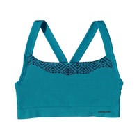Patagonia Women's Active Mesh Bra | Diamante Graphic: Curacao