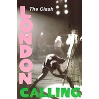 The Clash London Calling Poster 24x36