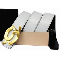 YSL Fashion Leather Belt