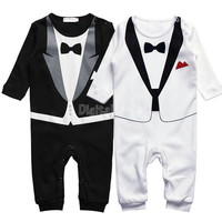 Baby Boy Kid Casual Romper Gentleman Pants long sleeve climb clothes Sets   baby clothing for boys kids 19873 = 1708656900