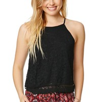 LA Hearts Goddess Lace Tank - Womens Tees