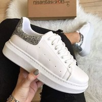 Alexander McQueen Flickers increase women's casual shoes