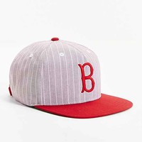 American Needle Demo Boston Red Sox Strapback Hat- Red One