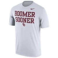 Men's Nike White Oklahoma Sooners Legend Authentic Local Dri-FIT T-Shirt