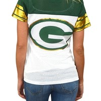 Green Bay Packers Womens Jersey Tee | SportyThreads.com
