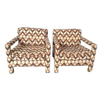 Pre-owned Parsons Chairs - A Pair