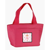 Ballerina Red Front Pose Lunch Bag BB5169PK-8808