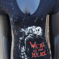 DiY Alice in Wonderland Top Cheshire Cat You choose the size