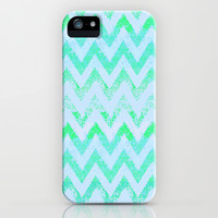 glowing chevron iPhone & iPod Case by Marianna Tankelevich