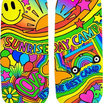 Sunrise Day Camp Ankle Socks