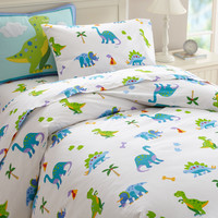 Olive Kids Dinosaur Land Twin Duvet Cover - 76412