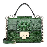 SAVY Ladies Lux Crocodile Handbag