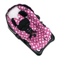 Disney Baby Minnie Mouse Light N Comfy Luxe Infant Car Seat, Minnie Dot (Discontinued by Manufacturer)