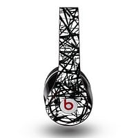 The Black and White Shards Skin for the Original Beats by Dre Studio Headphones