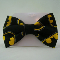 Batman Bat Symbol Bowtie
