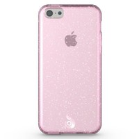 Diztronic Pink GlitterFlex TPU Case for Apple iPhone 5C - Retail Packaging