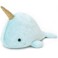 Nori the Narwhal Blue Plush Toy by Gund - LAST ONE!