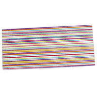 "Nika Martinez ""Summer Stripes"" Abstract Desk Mat"