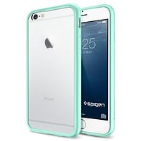 The Mint and Clear Ultra Hybrid Bumper iPhone 6/6s or 6/6s Plus Case