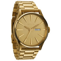 Nixon The Sentry Ss Watch All Gold One Size For Men 22202262101