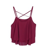 6 Candy Colors! 2017 New Summer style Women Tops Multiple Women Tank Tops