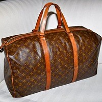 Make an Offer LOUIS VUITTON Keepall 55 Sac Souple Duffel Bag Large Size LV Monogram Tr