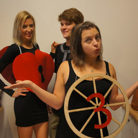 3rd Wheel Halloween Costume Adult humorous Pun play on words Halloween costume for singles male or female going to a Party with a couples