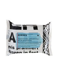 Korres Milk Proteins Cleansing & Make-Up Remover Wipes