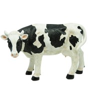 6 Inch Cow Statuary