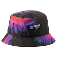 Neff Tie Dye Bucket Hat Black, One
