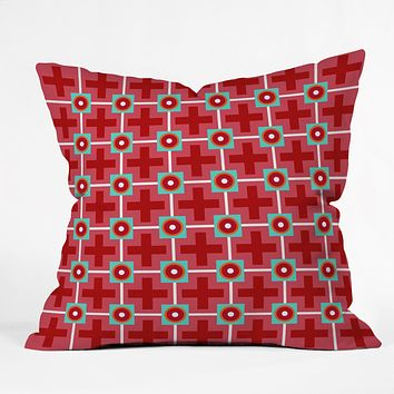 Caroline Okun Watermelon Crush Outdoor Throw Pillow