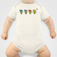 TMNT Chibis Onesuit by Katie Simpson   Society6