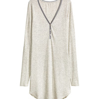 Ribbed Nightgown - from H&M
