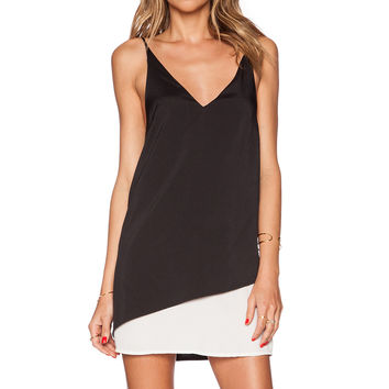 State of Being Suspended Dress in Black & White