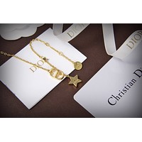 dior woman fashion accessories fine jewelry ring chain necklace earrings 5