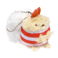 San-X Sumikko Gurashi Ebi Furai No Shippo (Fried Tail Of Shrimp) Sushi Mini Plush